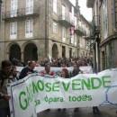 Manifesto lido na mobilización do 14 de Outubro en Santiago de Compostela