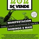 """Manifestacion: """"Contra o saqueo socioambiental da nosa terra"""""""