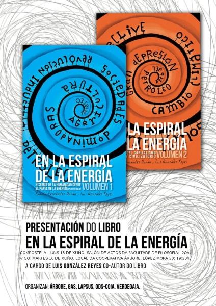 """Presentación do libro """"En la espiral de la energía"""""""