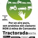 Domingo 7 de Abril: tractorada contra a minaría contaminante en Corcoesto